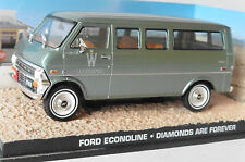 DIORAMA FORD ECONOLINE DIAMONDS ARE FOREVER JAMES BOND 007 UNIVERSAL HOBBIES