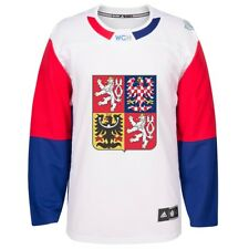 Czech Republic NHL Adidas White 2016 World Cup of Hockey Premier Away Jersey