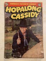 Hopalong Cassidy #90 Comic Book DC Comics Western Photo Cover William Boyd!!!!