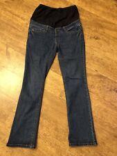 Mamas & Papas Over Bump Maternity jeans, Size 8 Regular leg