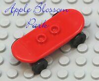 new New 1 X LEGO 42511c01 Minifigure Sport Skateboard With Wheels Apple Green