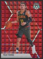 2019-20 Panini Mosaic Choice RED FUSION #182 Trae Young 66/88 Atlanta Hawks