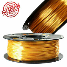 Silk PLA Filament Top Bronze Copper Gold Satin Silver 3D Printer Filament 1.75M