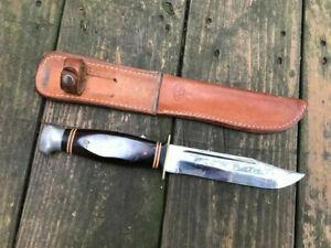 Vintage Kabar 1208 Bowie Knife w/ Sheath