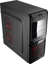 Aerocool V3X Advance Devil Red Edition Midi-Tower - Black / Red