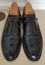 Cheaney/CHURCH'S IN PELLE NERA Richmond Tg UK 7.5 F fittng