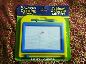 Children Magnetic Writing Drawing Board Toddler Sketch Pad Toys for Kids Blue