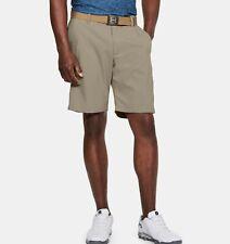 Under Armour UA Mens Flat Front Showdown Golf Shorts 1309547 Khaki 299 Size 38
