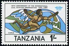 TANZANIA - 1984 - 40th. Anniv. of International Civil Aviation Organization #246