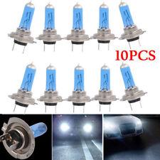 10pcs Xenon Headlights H7 12V 55W White 6000K Halogen Lamp Light Bright Accs