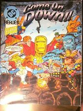 Mayfair 248 DC Heroes Role-Playing Game Justice League Europe COME ON DOWN (New)