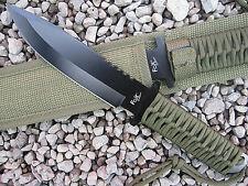Schweres Survival Outdoor Messer Buschmesser Gürtelmesser Jagdmesser Machete