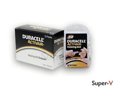 40 Duracell Size 312 Activair Hearing Aid Batteries (40 Batteries Total)