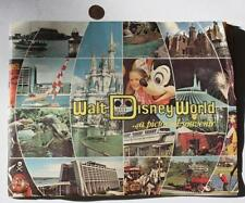 1982 Orlando,Florida Walt Disney World theme park pictorial guidebook-Pirates!*