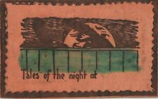 Postcard Leather Tales of the Night