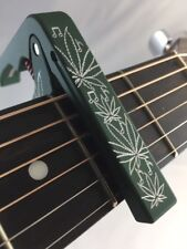 Electric or Acoustic Guitar Capo, Les Paul, Stratocaster, Pot, Marijana, Weed