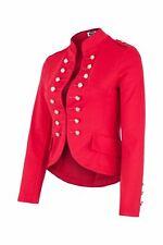 AO Blazer Uniform Military Karneval Fasching Kostüm Jacke Rot XL 42