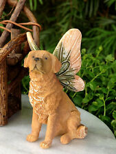Miniature Dollhouse FAIRY GARDEN Accessories ~ Golden Retriever Dog with Wings