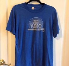 Vtg INTEL Good Best ASIC Not Just Another 4 Letter Word Screen Stars T-Shirt - L