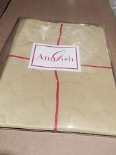 $225! Nwt Ann Gish Pom Pom Apple Green Standard Pillow Sham - Gorgeous!