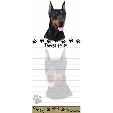 Doberman Tall Magnetic Notepad