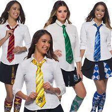 Official Harry Potter Hogwarts School House Ties Fancy Dress