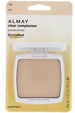 Almay Clear Complexion Pressed Powder -100 Light- new