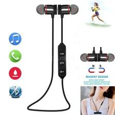 Magnetic Wireless Bluetooth 4.1 Headphone Sport Stereo Music In-Ear Headset S6X2
