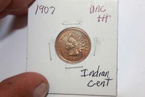 1907     UNC+++   INDIAN HEAD CENT