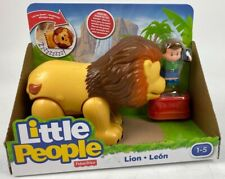 Fisher Price Little People Lion Zoo Animal Sounds Roars