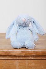 Little Jellycat Blue Bashful Bunny Rattle
