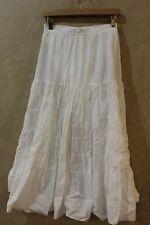 MAJE  Long Skirt White Size 6 Orig. $250 NWT _______________ R2C1