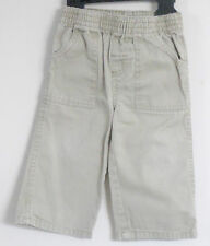 GARANIMALS Size 12 Months Boys Pull-On Brown Jeans
