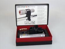 LED LENSER® B7.2  9427 Zweibrüder Geschenkbox + Universalhalter **Neu mit RG**