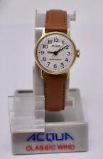 Vintage Ladies c. 1990 Mint NOS Timex Acqua Mechanical Wristwatch