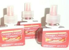 Yankee Candle 3x Sparkling Cinnamon Electric Scent Plug In Refills Free Ship