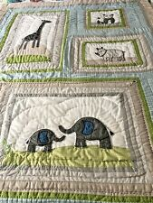 Pottery Barn Brooks Nursery Crib-Bed 3 Pc Quilt -Set Baby/Toddler Bed