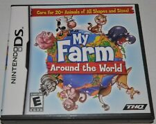 My Farm Around the World Nintendo DS Video Game w/ Instruction Booklet