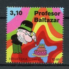 Croacia 2018 estampillada sin montar o nunca montada profesor Balthazar Baltazar 1 V Set Dibujos animados Animación sellos