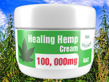 Pain Relief Cream with 100,000mg Hemp Seed Oil & Essential Oils