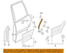 TOYOTA OEM 97-00 RAV4 Exterior-Rear-Protector Left 7692842010