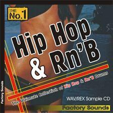 Hip Hop/RnB Drums - Sample Cd (Wav/Rex) Beats/Loops/Sounds/Fx/Kit s/Vibes 700Mb