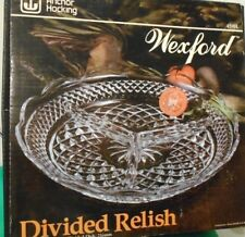 Divided Relish Dish Anchor Hocking Wexford