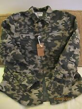 Young Men's Shirt Jacket Camo Quilted SMALL Urban Pipeline