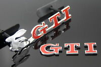 VW GTI Front Grill and Rear Boot Badges