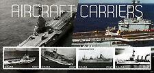Ghana 2012 MNH PORTAEREI 4V M / S barche navi Bearn arromanches HMS HERMES