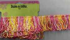 1 yard Multi-Color Trim Fringe Sewing Fabric Craft Supplies Embellishment