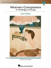 Women Composers A Heritage of Song The Vocal Library Low Voice Vocal 000740271