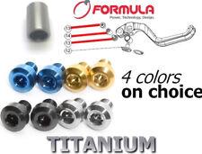 FORMULA R1/RO/T1: 2 Screws+1 middle axle in TITANIUM for BrakeLever. 43% lighter