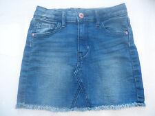 Jupe courte en jean avec franges H&M 6 - 7 ansTBE